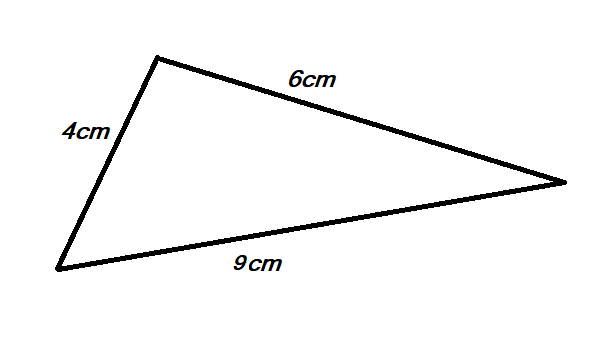 how to calculate area of a triangle using the length of three sides 2