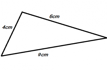 how to calculate area of a triangle using the length of three sides 5