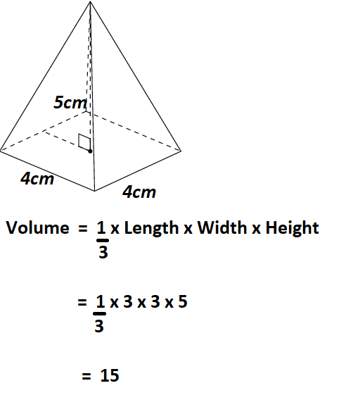 Calculate Volume of a Pyramid