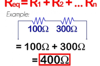 Calculate Total Resistance in a Series Circuit.