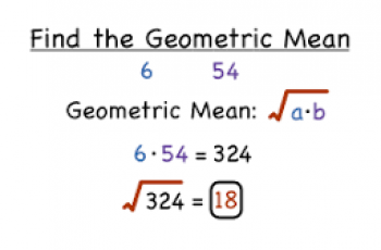 How to Calculate Geometric Mean.