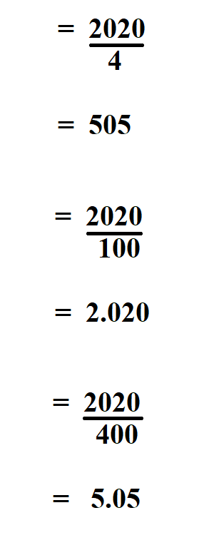 How to Calculate Leap Year.