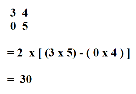 How to Calculate Determinant.