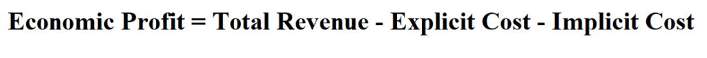 Calculate Economic Profit.
