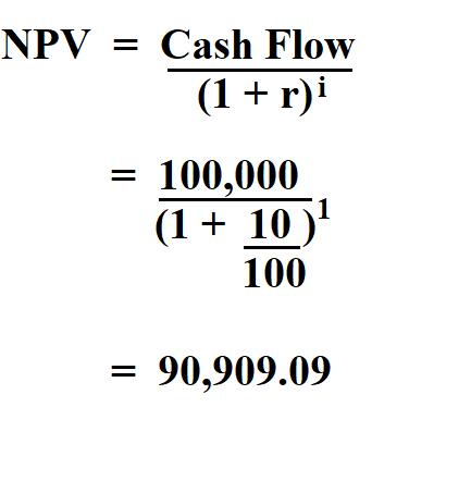 Calculate Net Present Value.
