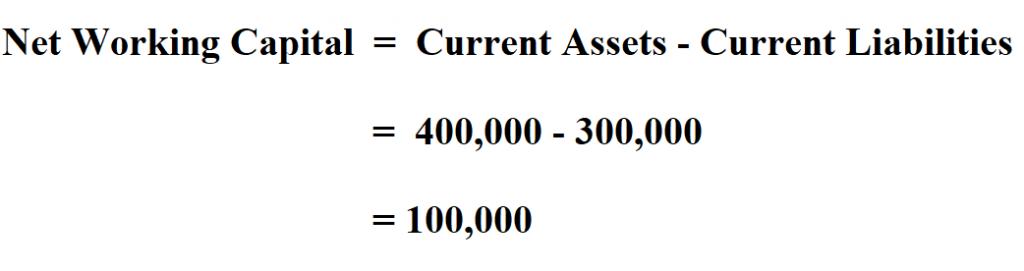 Calculate Net Working Capital.