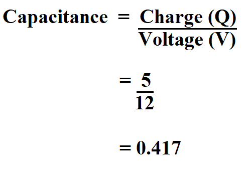 How to Calculate Capacitance.