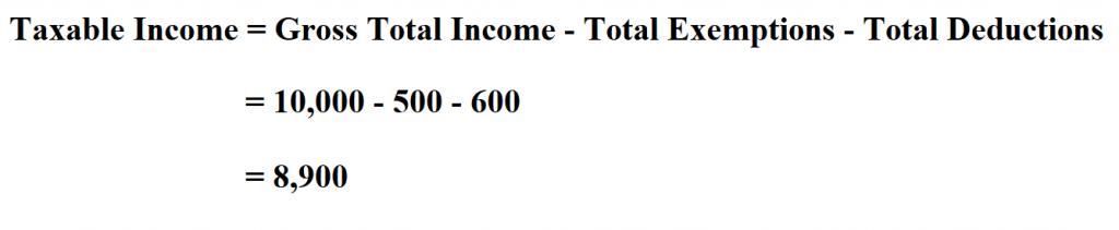 Calculate Taxable Income.