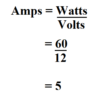How to Calculate Amps.