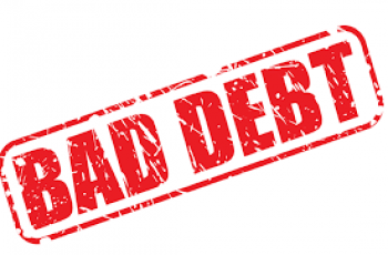 Calculate Bad Debt Expense.