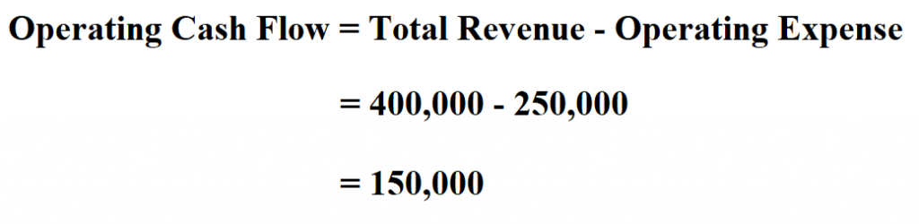 Calculate Operating Cash Flow.