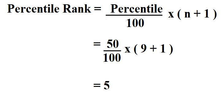 Calculate Percentile Rank.