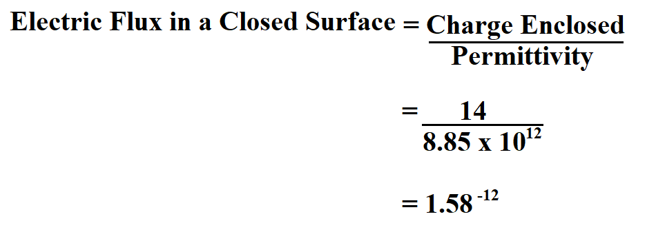 Calculate Total Electric Flux.