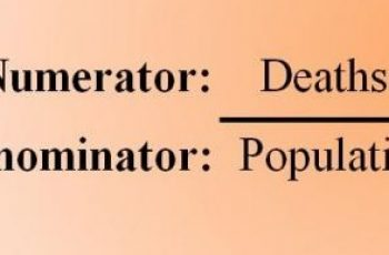 Calculate Mortality Rate.