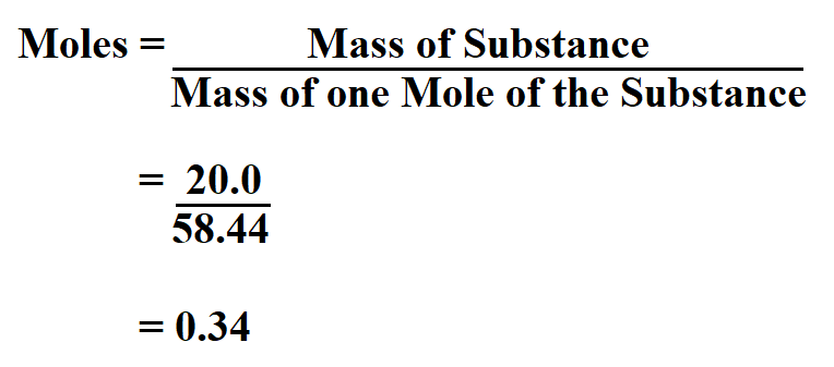How to Calculate Moles.