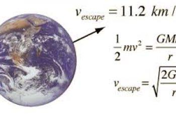 calculate escape velocity.