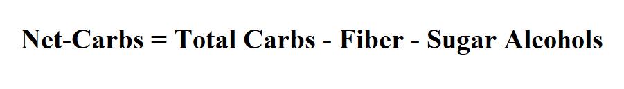 Calculate Net-Carbs.