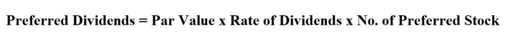 Calculate Preferred Dividends.