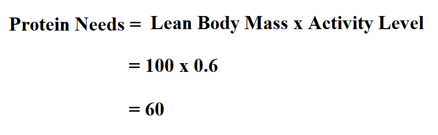 Calculate Protein Needs.