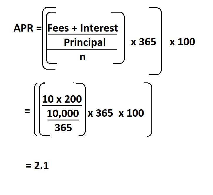 How to Calculate APR.