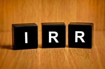 Calculate IRR in Excel.