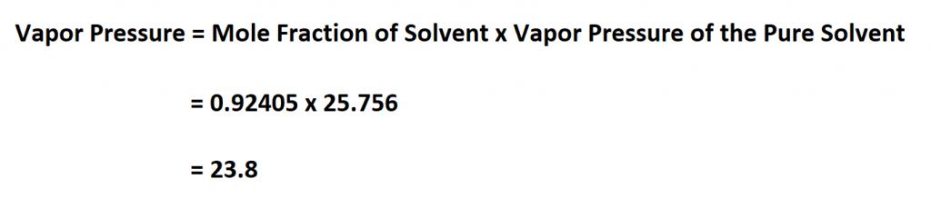 Calculate Vapor Pressure.
