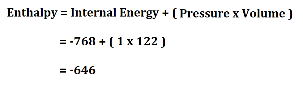 How to Calculate Enthalpy.