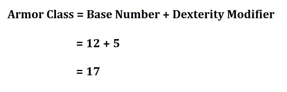 Calculate AC Dnd 5e.