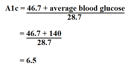 How to Calculate A1c.