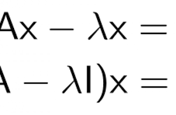 How to Calculate Eigenvectors.