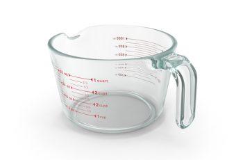 Convert Cups to Quarts.