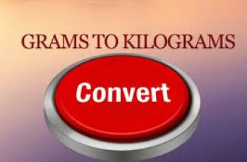 Convert Grams to Kilograms.