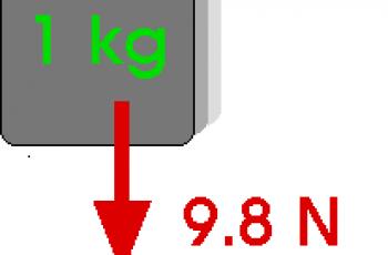 Convert Newtons to Kilogram.