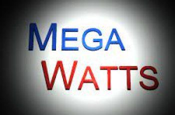 Convert Megawatts to Kilowatts.