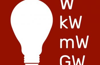 Convert Megawatts to Watts.